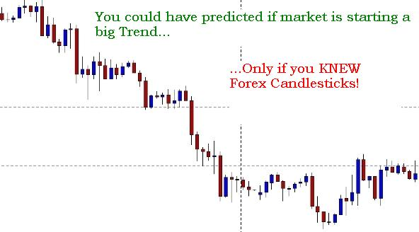 Forex candlestick charts explained